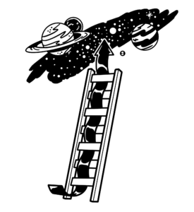 ladder to universe with good Leadership