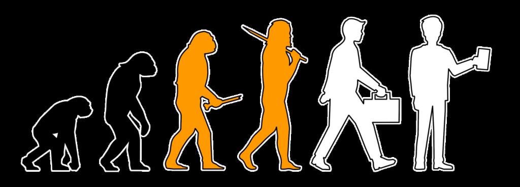 Evolution des Lernens und Arbeit