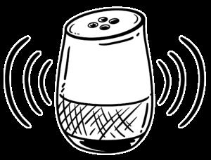 voice speaker sind teil der Marketing Trends 2020