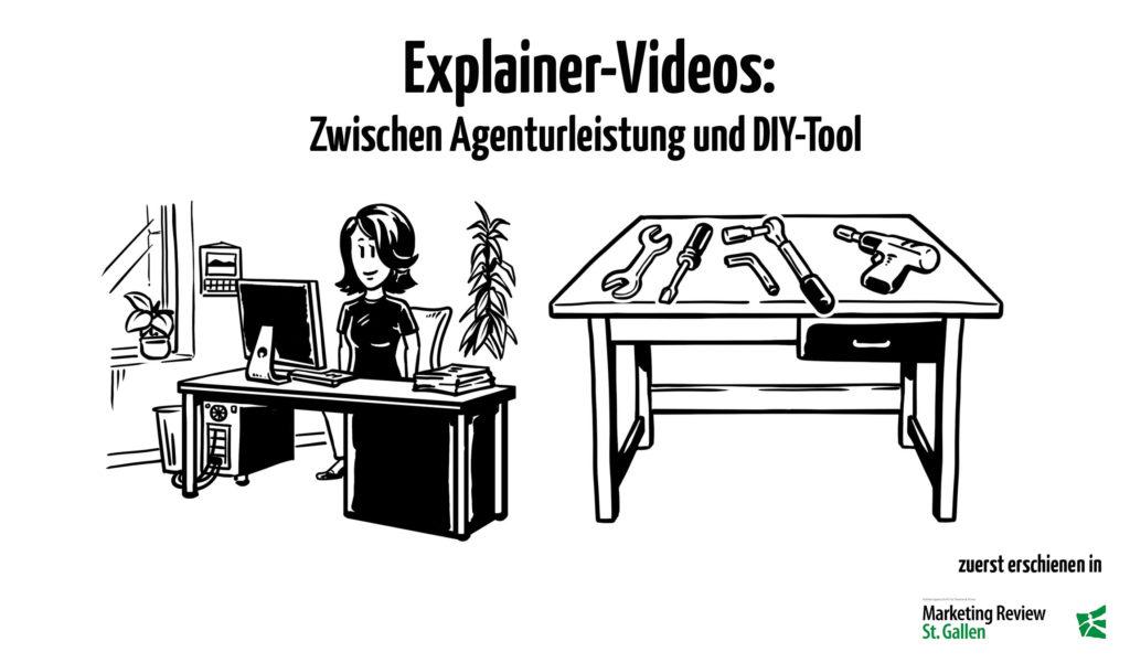 Explainer-Videos - Zwischen Agenturleistung und DIY-Tool