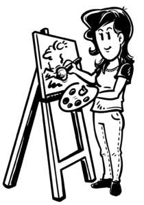 Schritte zur erfolgreichen Erklärvideoproduktion - Visualisierung