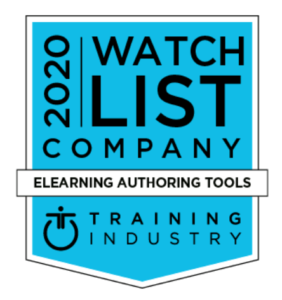 simpleshow video maker named among Training Industry Magazine's 2020 Watch List for eLearning Authoring Tools
