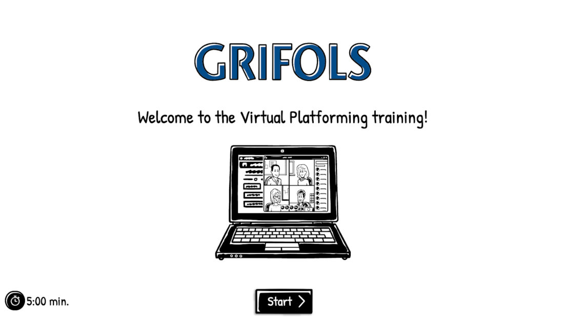 How has the Grifols team adopted using the video maker